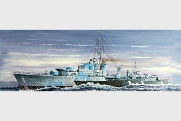 Tribal-class destroyer HMCS Huron (G24) 1944 · TRU 05759 ·  Trumpeter · 1:700