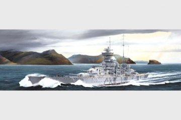 German cruiser Prinz Eugen 1942 · TRU 05766 ·  Trumpeter · 1:700