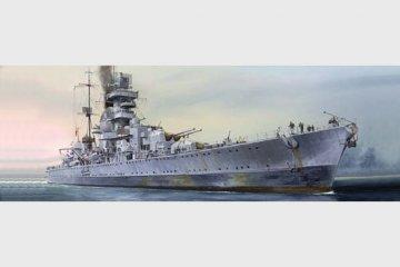 German cruiser Prinz Eugen 1945 · TRU 05767 ·  Trumpeter · 1:700