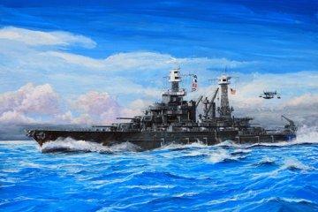 USS Maryland BB-46 1941 · TRU 05769 ·  Trumpeter · 1:700