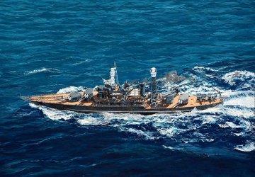 USS West Virginia BB-48 1941 · TRU 05771 ·  Trumpeter · 1:700