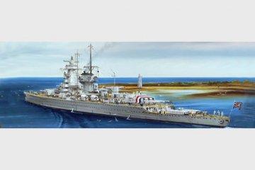 Ger. Battleship Admiral Graf Spee 1937 · TRU 05773 ·  Trumpeter · 1:700