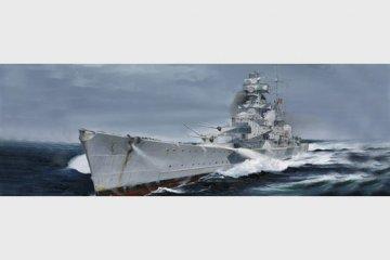 German Cruiser Admiral Hipper 1940 · TRU 05775 ·  Trumpeter · 1:700