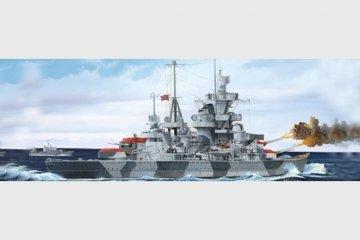 German Cruiser Admiral Hipper 1941 · TRU 05776 ·  Trumpeter · 1:700