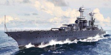 USS Tennessee BB-43 1941 · TRU 05781 ·  Trumpeter · 1:700