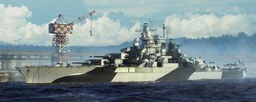 USS Tennessee BB-43 1944 · TRU 05782 ·  Trumpeter · 1:700