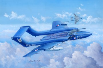 de Havilland DH.110 Sea Vixen Faw.2 · TRU 05808 ·  Trumpeter · 1:48
