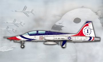 US T-38A Talon-Thunderbird · TRU 05809 ·  Trumpeter · 1:48