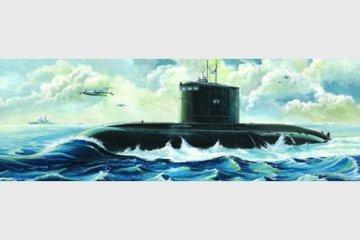 Russisches U-Boot Kilo-Klasse · TRU 05903 ·  Trumpeter · 1:144