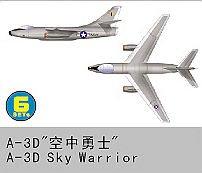 Grumman A-3 D Skywarrior · TRU 06223 ·  Trumpeter · 1:350