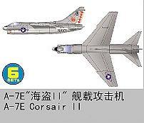 Chance Vought A-7 E Corsair II · TRU 06225 ·  Trumpeter · 1:350