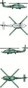 HH-60H Rescue Hawk · TRU 06232 ·  Trumpeter · 1:350