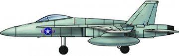 6 x F/A-18C Hornet · TRU 06233 ·  Trumpeter · 1:350