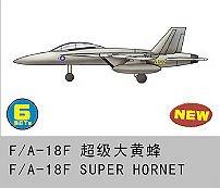 6 x F/A-18F SUPER Hornet · TRU 06235 ·  Trumpeter · 1:350