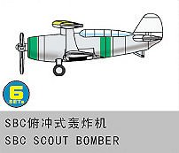 SBC Scout Bomber · TRU 06243 ·  Trumpeter · 1:350