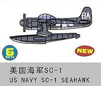 US Navy SC-1 Seahawk (6 St.) · TRU 06250 ·  Trumpeter · 1:350