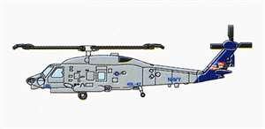 SH-60K Sea Hawk (6 aircraft) · TRU 06254 ·  Trumpeter · 1:350