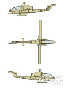 AH-1W SuperCobra (12 aircraft) · TRU 06255 ·  Trumpeter · 1:350