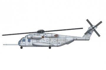 CH-53E Super Stallion · TRU 06257 ·  Trumpeter · 1:350