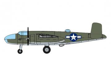 B-25 · TRU 06401 ·  Trumpeter · 1:350