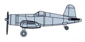 F4U-4 Corsair [Prepainted] · TRU 06405 ·  Trumpeter · 1:350