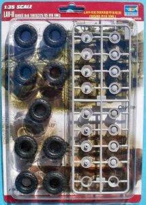 LAV II series 8X8 tyres (325/85 R16 XML) · TRU 06608 ·  Trumpeter · 1:35