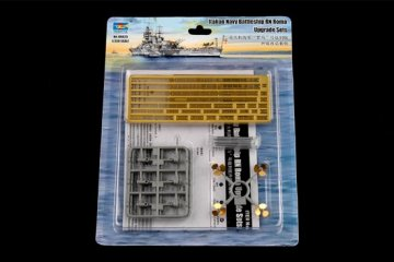Italian Navy Battleship RN Roma Acces. · TRU 06625 ·  Trumpeter · 1:350