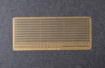Handrails & Safety net for 1/700 model ship · TRU 06635 ·  Trumpeter · 1:700