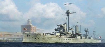 HMS Dreadnought 1918 · TRU 06706 ·  Trumpeter · 1:700