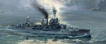 USS New York BB-34 · TRU 06711 ·  Trumpeter · 1:700
