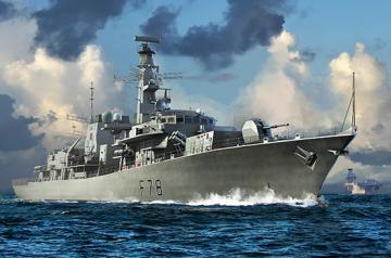 HMS TYPE 23 Frigate  Kent(F78) · TRU 06719 ·  Trumpeter · 1:700