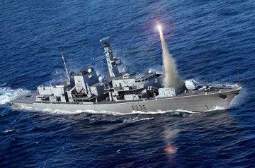 HMS TYPE 23 Frigate-Montrose (F236) · TRU 06720 ·  Trumpeter · 1:700