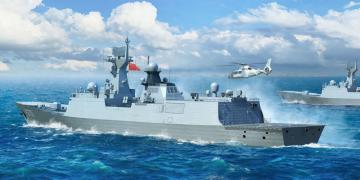 PLA Navy Type 054A FF · TRU 06727 ·  Trumpeter · 1:700