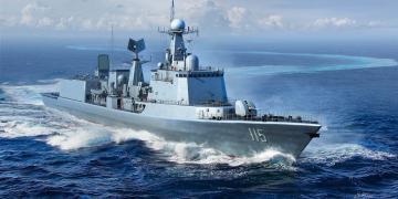 PLA Navy Type 051C Destroyer · TRU 06731 ·  Trumpeter · 1:700