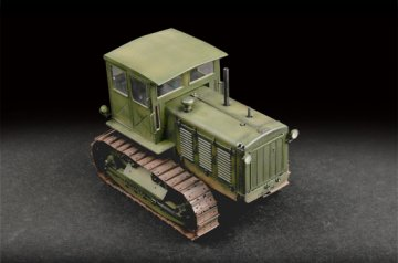 Russian ChTZ S-65 Tractor with Cabin · TRU 07111 ·  Trumpeter · 1:72