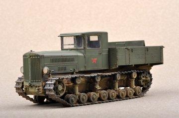 Soviet Komintern Artillery Tractor · TRU 07120 ·  Trumpeter · 1:72