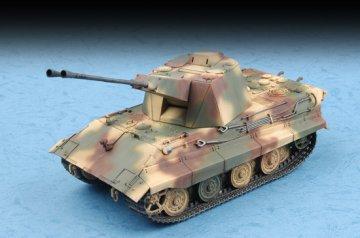 German E-50 Flakpanzer · TRU 07124 ·  Trumpeter · 1:72