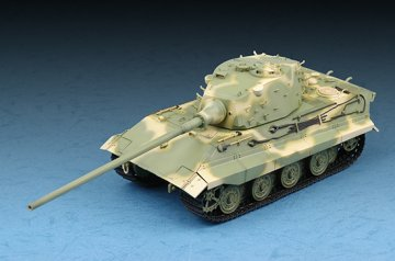 German E-75(75-100 tons) / Standardpanzer · TRU 07125 ·  Trumpeter · 1:72
