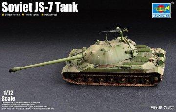 Soviet JS-7 Tank · TRU 07136 ·  Trumpeter · 1:72