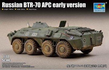 Russian BTR-70 APC - Early version · TRU 07137 ·  Trumpeter · 1:72