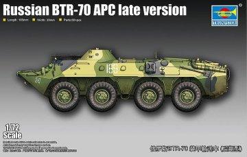 Russian BTR-70 APC - Late version · TRU 07138 ·  Trumpeter · 1:72