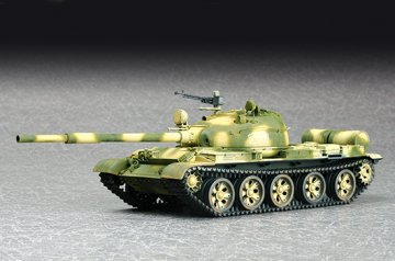 Russian T-62 Main Battle Tank Mod.1972 · TRU 07147 ·  Trumpeter · 1:72