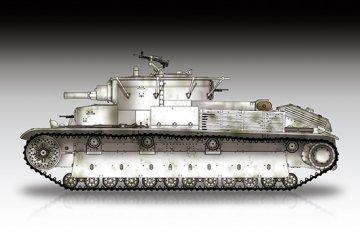 Soviet T-28 Medium Tank (Riveted) · TRU 07151 ·  Trumpeter · 1:72