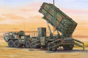 M983 HEMTT & M901 Launching Station of MIM-104F Patriot SAM System (PAC-3) · TRU 07157 ·  Trumpeter · 1:72