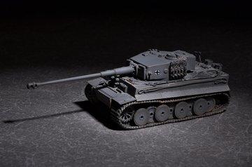German Tiger with 88mm kwk L/71 · TRU 07164 ·  Trumpeter · 1:72