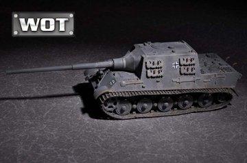 German JagdTiger with 128mm pak 44L-61 - WOT · TRU 07165 ·  Trumpeter · 1:72