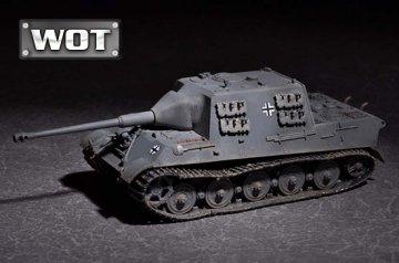 German JagdTiger with 88mm /L71 - WOT · TRU 07166 ·  Trumpeter · 1:72
