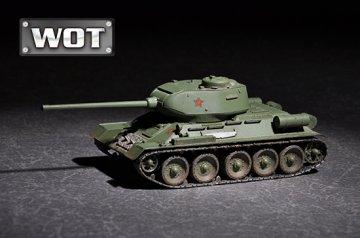 T-34/85 · TRU 07167 ·  Trumpeter · 1:72