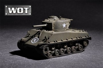 US M4A3E8 with 105mm M4 · TRU 07168 ·  Trumpeter · 1:72