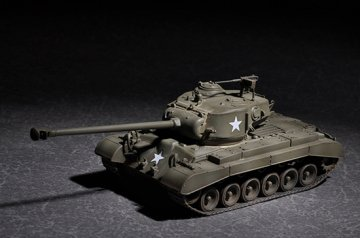 US M26 with 90mm T15E2M2 · TRU 07170 ·  Trumpeter · 1:72